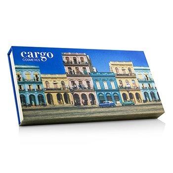 Cargo Havana Nights Eye Shadow Palette (12x Eyeshadow, 1x Dual End Brush)