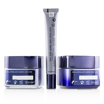 L'Oreal Revitalift Filler Renew Routine Set: Day Cream 50ml/1.7oz + Night Cream 50ml/1.7oz + Eye Cream 15 ml/0.5oz