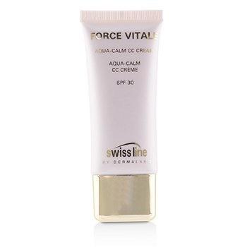 Swissline Force Vitale Aqua-Calm CC Cream SPF30 - #Beige 20