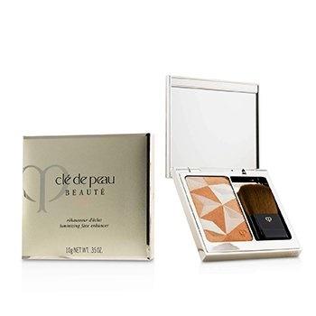 Cle De Peau Luminizing Face Enhancer (Case + Refill) - # 15 Golden Apricot