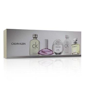 Calvin Klein Miniature Coffret: CK One EDT 10ml + Euphoria EDP 4ml + CK All EDT 10ml + Obsessed EDP 5ml + Eternity EDP 5ml
