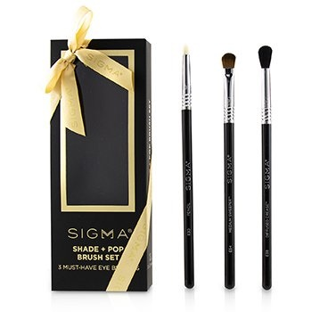 Sigma Beauty Shade + Pop Brush Set