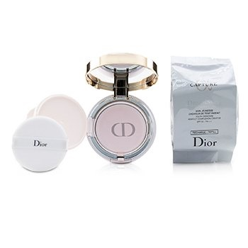 Christian Dior Capture Dreamskin Moist & Perfect Cushion SPF 50 With Extra Refill - # 010 (Ivory)
