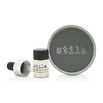 Stila Magnificent Metals Foil Finish Eye Shadow With Mini Stay All Day Liquid Eye Primer - Metallic Lavender