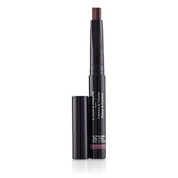 By Terry Twist On Lip Dual Lipstick - # 6 Nude & Burgundy (Exp. Date 09/2019)
