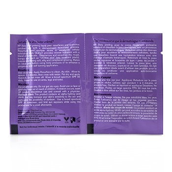 DERMAdoctor KP Duty High Potency Daily Body Peel (30x Resurface Treatments 6ml/2oz, 30x Quench Treatments 6ml/2oz)