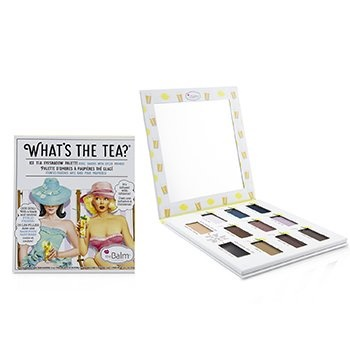 TheBalm What's The Tea? Ice Tea Eyeshadow Palette (Cool Shades With Eyelid Primer)