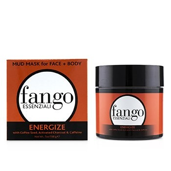 Borghese Fango Essenziali Energize Mud Mask with Coffee Seed, Activated Charcoal & Caffeine