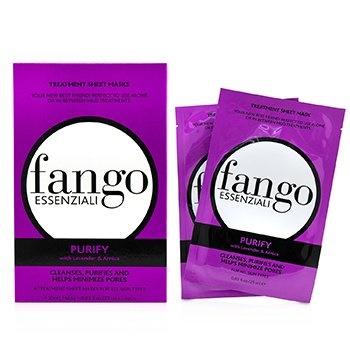 Borghese Fango Essenziali Purify Treatment Sheet Masks