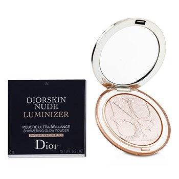 Christian Dior Diorskin Nude Luminizer Shimmering Glow Powder - # 02 Pink Glow