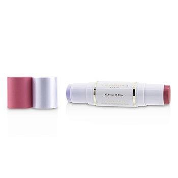 Clarins Glow 2 Go Blush & Highlighter Duo - # 01 Glowy Pink