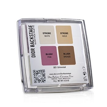 Christian Dior Backstage Glow Face Palette (Highlight & Blush) - # 001 Universal