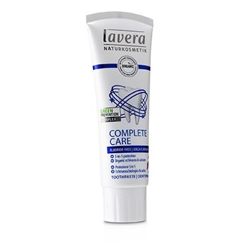 Lavera Toothpaste (Complete Care) - With Organic Echinacea & Calcium (Fluoride-Free)