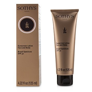 Sothys Sunscreen Lotion - For Face & Body SPF 30
