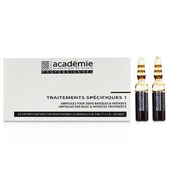 Academie Specific Treatments 1 Ampoules Wild Fruit Complex (Brown) - Salon Product