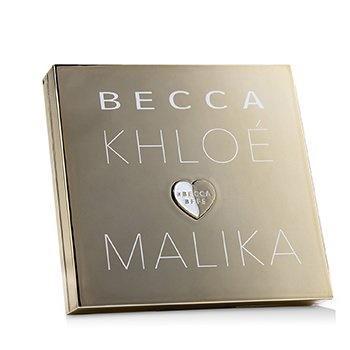Becca BECCA x Khloe Kardashian & Malika Haqq BFFs Bronze, Blush & Glow Palette - By Khole (1x Bronzer,1x Highlighter,2x Blush)