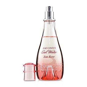 Davidoff Cool Water Sea Rose Caribbean EDT Spray (Summer Edition)
