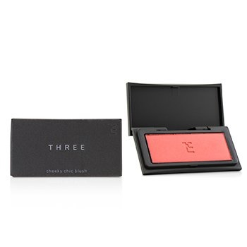 THREE Cheeky Chic Blush - # 02 Sweet Revolution (Ethereal Pink)