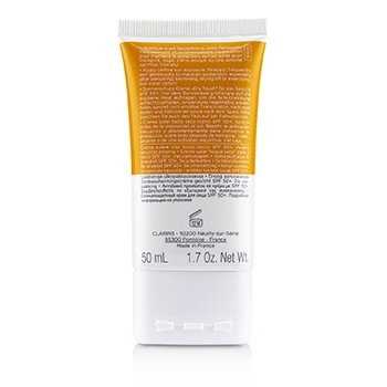 Clarins Dry Touch Sun Care Cream For Face SPF 50
