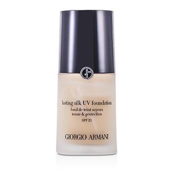Giorgio Armani Lasting Silk UV Foundation SPF 20 - # 4.5 Sand (Box Slightly Damaged)