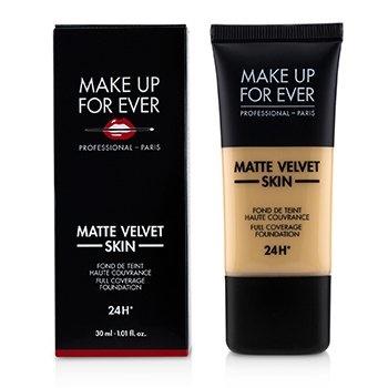 Make Up For Ever Matte Velvet Skin Full Coverage Foundation - # Y255 (Sand Beige)