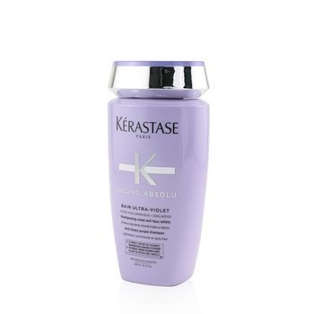 Kerastase Blond Absolu Bain Ultra-Violet Anti-Brass Purple Shampoo (Lightened, Cool Blonde or Grey Hair)