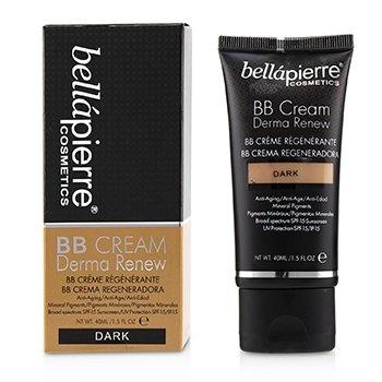 Bellapierre Cosmetics Derma Renew BB Cream SPF 15 - # Dark