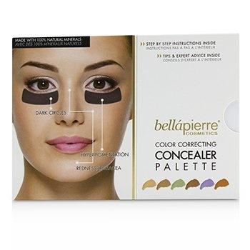Bellapierre Cosmetics Color Correcting Concealer Palette (6x Concealer)