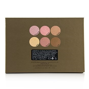 Bellapierre Cosmetics Glowing Palette (6x Illuminator)