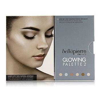 Bellapierre Cosmetics Glowing Palette 2 (6x Illuminator)