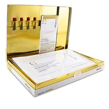 Cellcosmet & Cellmen Cellcosmet CellEctive CellCollagen Face & Neck: 4x Masks (Serum 28ml/0.95oz) + 4x Ampoules 1.5ml/0.05oz