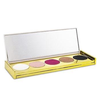 Winky Lux Custom Eyes Shadow Palette - # Smoke & Rose (5x Eyeshadow)