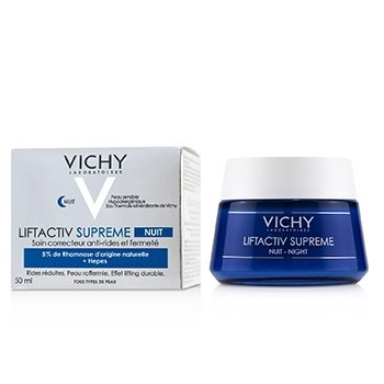 Vichy LiftActiv Supreme Night Anti-Wrinkle & Firming Correcting Care Cream (For All Skin Types)