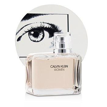 Calvin Klein Women Coffret: EDP Spray 100ml/3.4oz + Body Lotion 100ml/3.4oz + EDP Spray 10ml/0.33oz