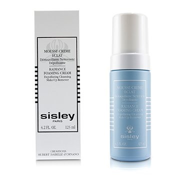 Sisley Radiance Foaming Cream Depolluting Cleansing Make-Up Remover
