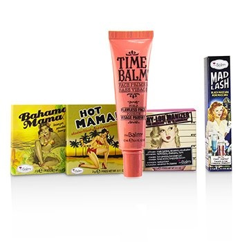 TheBalm Travel Size Classics Set (1x Shadow/Blush, 1x Bronzer, 1x Mascara, 1x Primer, 1x Highlighter/Shadow)