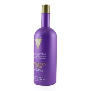 Hayashi 911 Emergency Pak Emergency Reconstructor Rinse-Out Super Conditioner (For Dry, Damaged Hair)