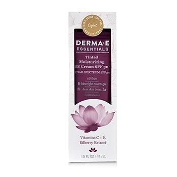 Derma E Essentials Tinted Moisturizing BB Cream SPF 30 (Oil Free) - Light