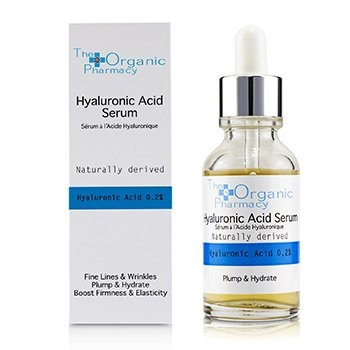 The Organic Pharmacy Hyaluronic Acid Serum - Fine Lines & Wrinkles, Plump & Hydrate, Boost Firmness & Elasticity