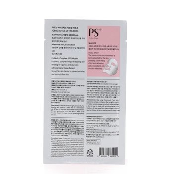 PS Perfect Select Adeno Biotics Lifting Mask - Enhance Skin Elasticity (Box Slightly Damaged)