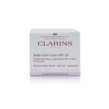 Clarins Multi-Active Day Targets Fine Lines Antioxidant Day Cream SPF 20 - All Skin Types