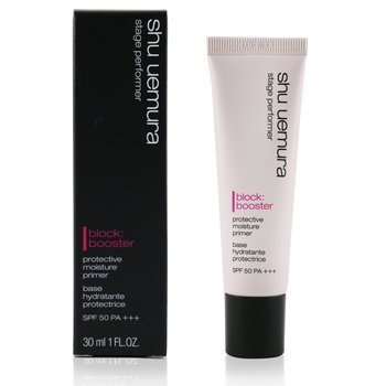 Shu Uemura Stage Performer Block:Booster Protective Moisture Primer SPF 50 - # Fresh Pink