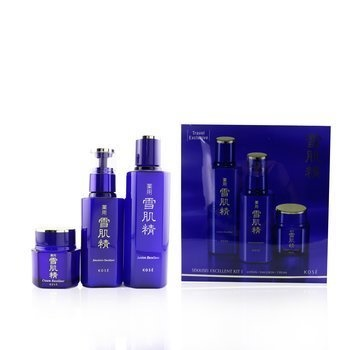 Kose Sekkisei Excellent Kit I: Lotion Excellent 200ml + Emulsion Excellent 140ml + Cream Excellent 50g