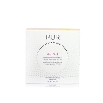 PUR (PurMinerals) 4 in 1 Pressed Mineral Makeup Broad Spectrum SPF 15 - # LP4 Porcelain