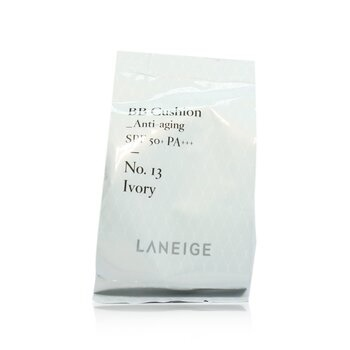 Laneige BB Cushion Foundation (Anti Aging) SPF 50 With Extra Refill - # No. 13 Ivory
