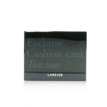 Laneige Eyebrow Cushion Cara - # No. 1 Two Tone Gray (Gray Brown/ Khaki Brown)