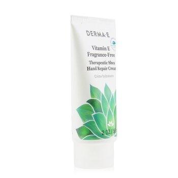 Derma E Vitamin E Fragrance-Free Therapeutic Shea Hand Repair Cream