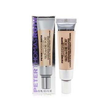Peter Thomas Roth Skin To Die For Darkness-Reducing Under-Eye Treatment Primer - Universal Shade