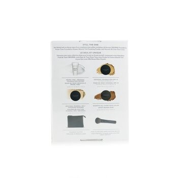 BareMinerals On The Go 6 Piece Get Started Kit (1x Primer, 1x Foundation 1x Mineral Veil, 1x All Over Face Color) - # Medium Beige 12