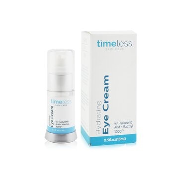 Timeless Skin Care Hydrating Eye Cream W/ Hyaluronic Acid +Matrixyl 3000